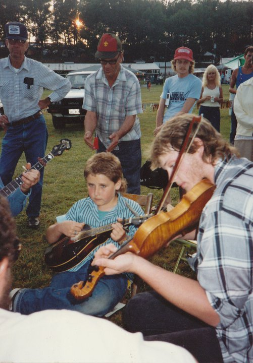Greg Hooven, Tommy Barr Fiddle, Mt. Airey Fiddler's, ~ 1995