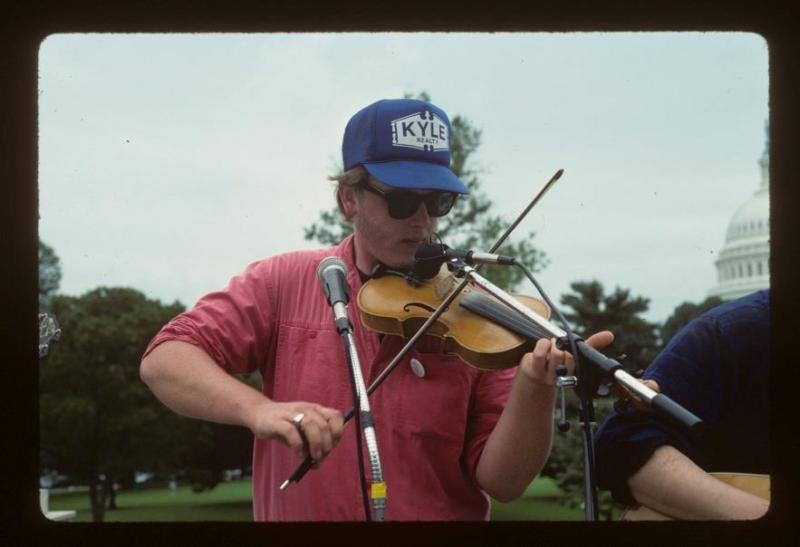 Greg Hooven, June 15, 1989, Neptune Plaza, Library of Congress, Washington, DC